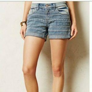Anthropologie Pilcro denim shorts